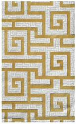 The Rug Market America Ecconox Rome  72334 Khaki/cream/gold Area Rug