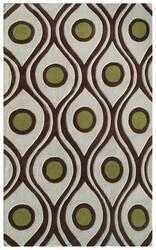 The Rug Market America Ecconox Demetrius 72417 Cream/brown/olive Area Rug