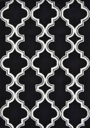 The Rug Market America Pop Accents Jafar Black/White Area Rug
