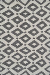 The Rug Market America Pop Accents Charter Gray/White Area Rug