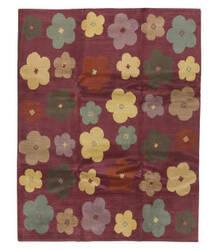 Tufenkian Tibetan Magenta Floral 8' x 10' Rug