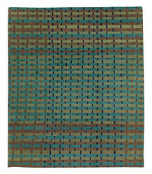 Tufenkian Tibetan Rag Weave Mardi Gras Area Rug