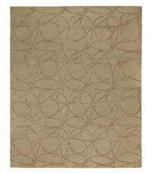 Tufenkian Tibetan Clover Loop Honey Area Rug
