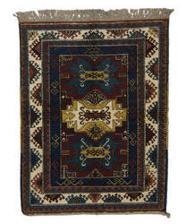 Tufenkian Knotted Red/Navy 5' x 6' Rug