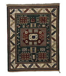 Tufenkian Knotted Green 6' x 7' Rug