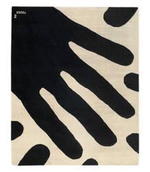 Tufenkian Tibetan Touch Me Black/White Area Rug