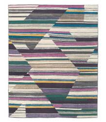 Tufenkian Lama Abstract Fall Color Area Rug