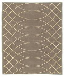 Tufenkian Shakti Arching Lattice Smokey Topaz Area Rug