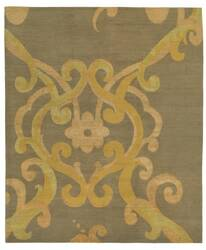 Tufenkian Shakti Assumed Arabesque Verdigris Area Rug