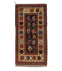 Tufenkian Knotted Rust 3' x 7' Runner Rug