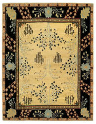 Tufenkian Setana Donegal Branches Almond Area Rug