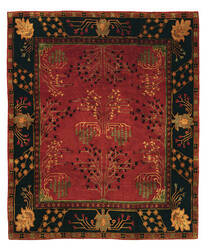 Tufenkian Setana Donegal Branches Ruby / Deep Pine Area Rug