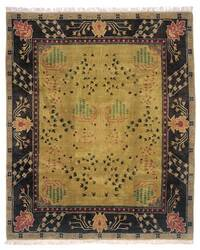 Tufenkian Setana Donegal Branches Umber Earth Area Rug
