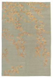 Tufenkian Shakti Floral Cascade Celadon Area Rug