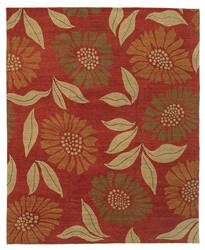 Tufenkian Kotana Flower Power Cinnamon Stick Area Rug