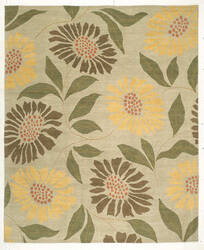 Tufenkian Kotana Flower Power Buttercup Area Rug
