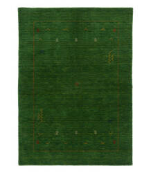 Tufenkian Knotted Indian Gabbeh Green Area Rug