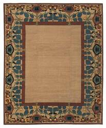 Tufenkian Kotana Inverness Border Tiffany Area Rug