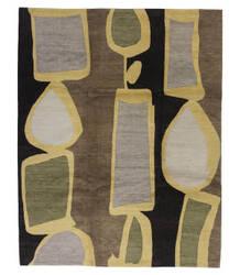 Tufenkian Tibetan Brown/Gold 8' x 10' Rug