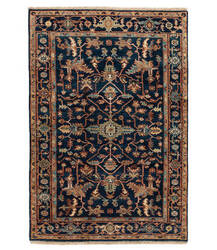 Tufenkian Knotted Navy 4' x 6' Rug