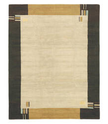 Tufenkian Tibetan Kensington White Chocolate Area Rug