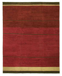 Tufenkian Kotana Loop Stripe Ruby Area Rug