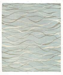 Tufenkian Shakti Ripple Ocean Spray Area Rug