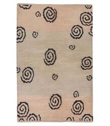 Tufenkian Tibetan Black/Beige 6' x 9' Rug