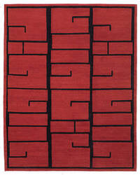 Tufenkian Lama Shanghai Red Lacquer Area Rug