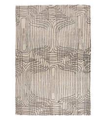 Tufenkian Tibetan White 4' x 6' Rug