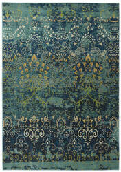Gold And Teal At Rug Studio